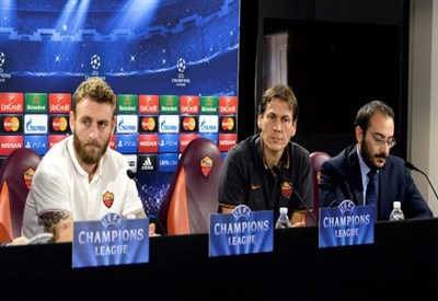 Roma-Barcellona, Champions League (Infophoto)