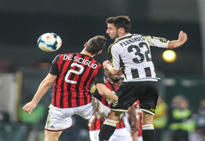Mattia De Sciglio, 22 anni, e Bruno Fernandes, 20 (Infophoto)