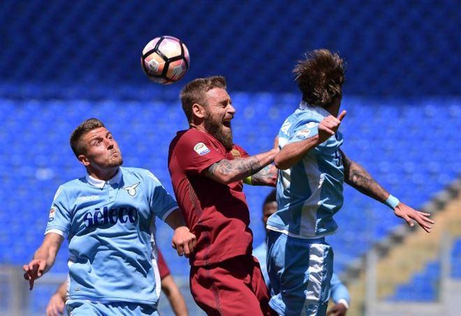 Diretta Roma-Lazio, LaPresse