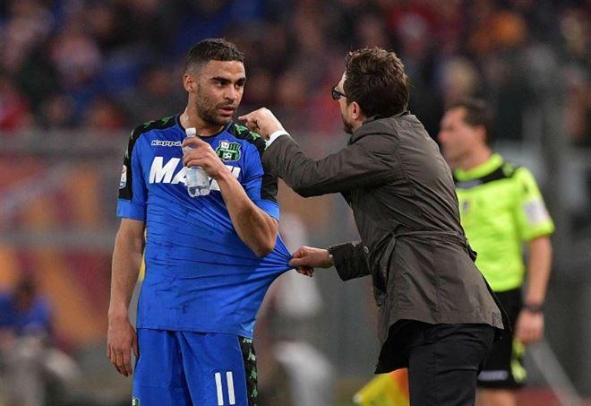 Grégoire Defrel: alla Roma ritroverà Di Francesco (Foto LaPresse)