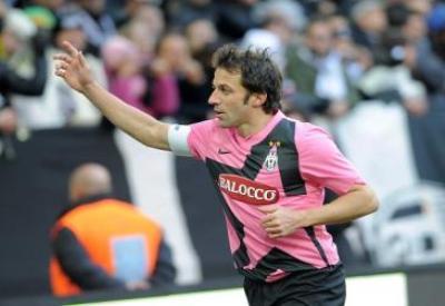 Alessandro Del Piero, capitano della Juve (Foto Infophoto)