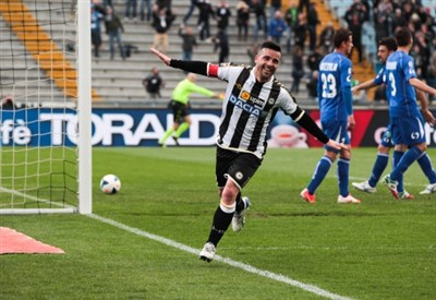 Di Natale, capitano Udinese (Infophoto)