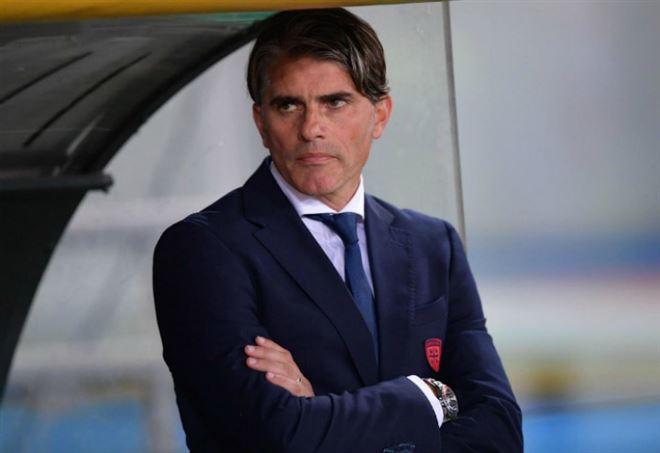 Diego Lopez, allenatore del Cagliari (Foto LaPresse)