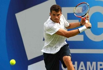 Grigor Dimitrov: è l'avversario di Rafa Nadal (Infophoto)