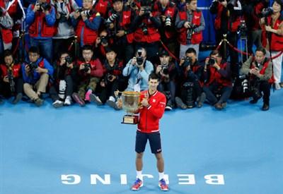 Novak Djokovic, 28 anni, numero 1 del ranking ATP (Infophoto)