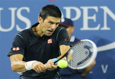 Novak Djokovic, quattro volte vincitore degli Australian Open (Infophoto)