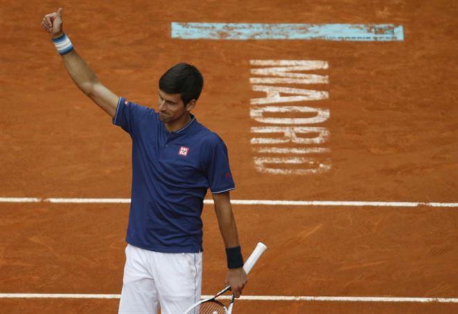 Novak Djokovic, 4 titoli a Roma (Foto LaPresse)