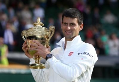Novak Djokovic, 28 anni, campione in carica a Wimbledon (Infophoto)