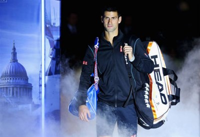 Novak Djokovic difende il titolo 2012