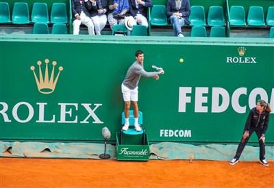 Novak Djokovic, 27 anni, campione nel 2013 (dall'account ufficiale facebook.com/MonteCarloRolexMasters)