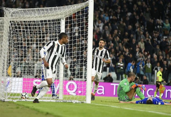 Video Juventus Sampdoria, Serie A 32^ giornata (Foto LaPresse)
