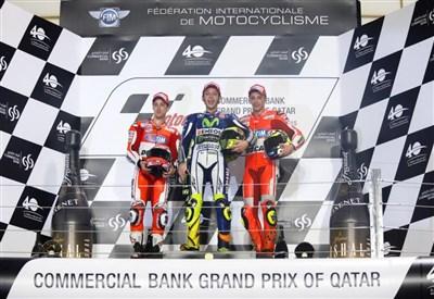 Iannone sul podio (infophoto)