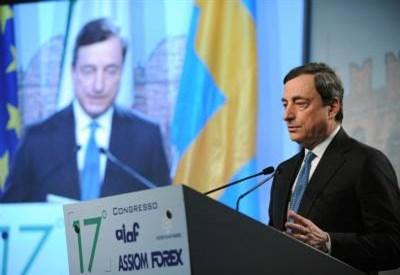 Mario Draghi, governatore Bankitalia dal 2006 al 2011 (Infophoto)