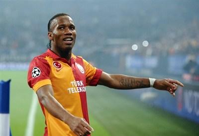 Didier Drogba, grande ex della partita (Infophoto)