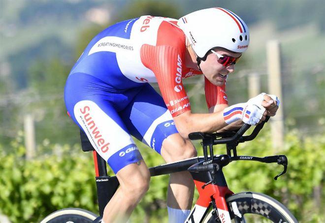 Classifica Giro d'Italia: Tom Dumoulin è in rosa grazie alla cronometro (LaPresse)