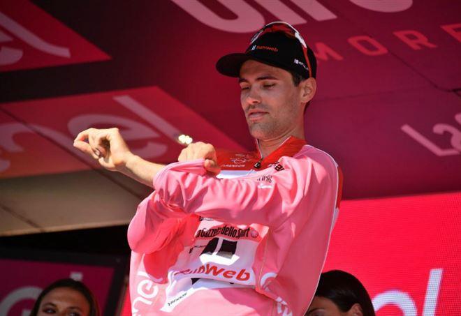 Classifica Giro d'Italia: Tom Dumoulin è in maglia rosa (LaPresse)