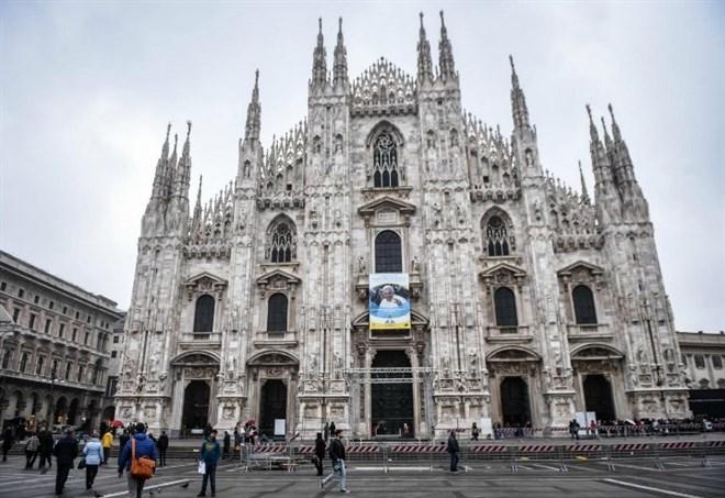 Piazza Duomo a Milano per Radio Italia Live