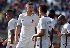 Diretta/ Villarreal-Roma (risultato finale 0-4) info streaming video e tv: Tripletta di Dzeko, grande prestazione di squadra (Tv8, Europa League 2017)