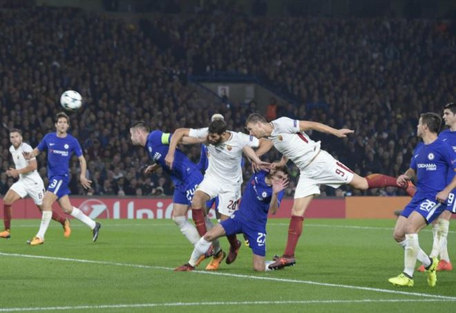 Impresa Roma in Champions League: battuto il Chelsea 3-0