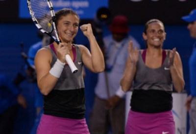 Sara Errani, 27 anni, e Roberta Vinci, 31 (Infophoto)