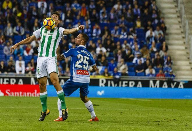 Fabien Ruiz, centrocampista del Betis Siviglia ad un passo dal Napoli - LaPresse