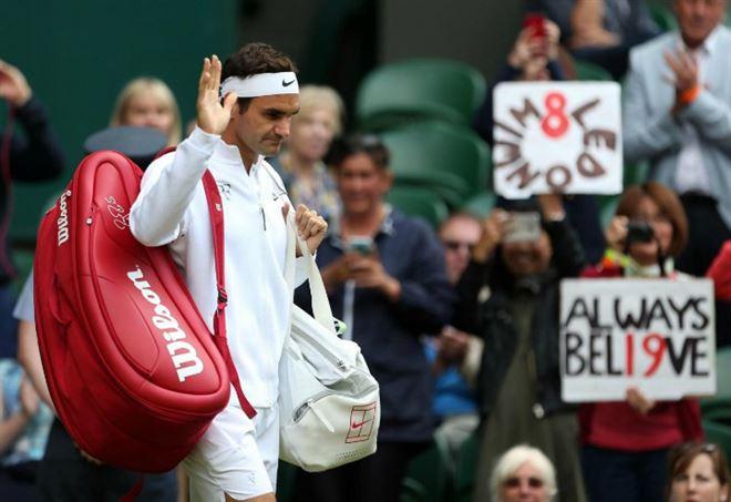 Wimbledon, Federer trionfa per l'ottava volta. Lacrime per Cilic