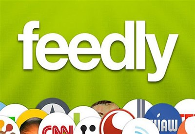 Il logo di Feedly