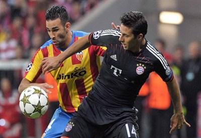 Sofiane Feghouli, centrocampista del Valencia (Infophoto)