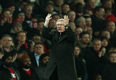 Sir Alex Ferguson chiede l'aiuto del pubblico appena dopo il rosso a Nani (Infophoto)