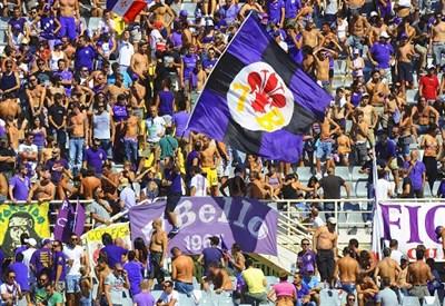 Tifosi della Fiorentina (Infophoto)