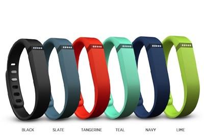 Fitbit Flex nelle sue diverse colorazioni
