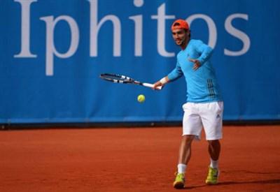 Fabio Fognini, 27 anni, numero 20 del ranking ATP (Infophoto)