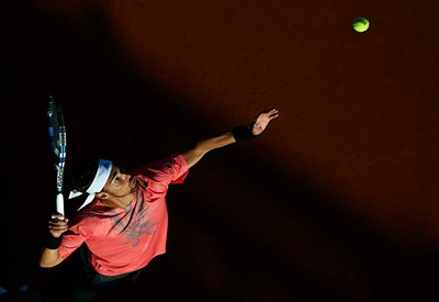 Fabio Fognini, 28 anni (Infophoto)