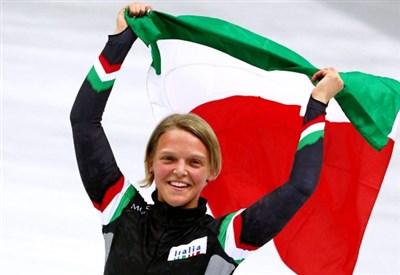 Arianna Fontana, tre medaglie olimpiche a Sochi (Infophoto)