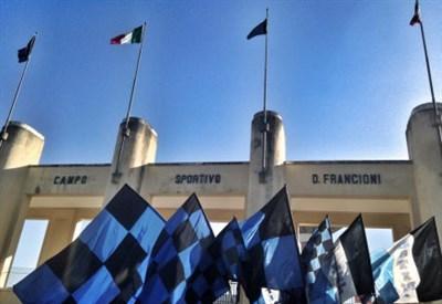 Lo stadio Francioni di Latina (Infophoto)