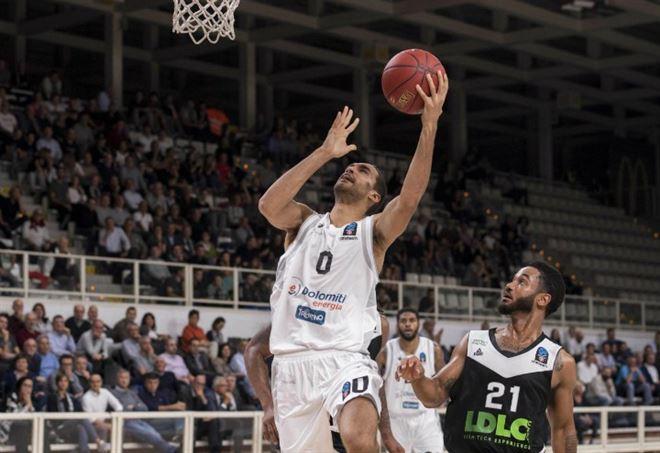 Diretta Villeurbanne Trento, basket Eurocup (Foto LaPresse)