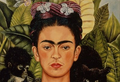 Un autoritratto di Frida Kahlo