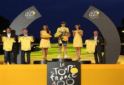 Froome, vincitore della scorsa edizione del Tour de France (Infophoto)