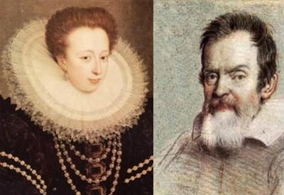 Galileo Galilei e Maria Cristina di Lorena