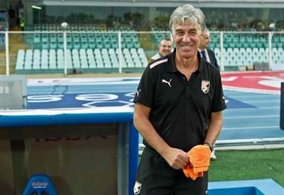 Gian Piero Gasperini, allenatore del Palermo (Infophoto)