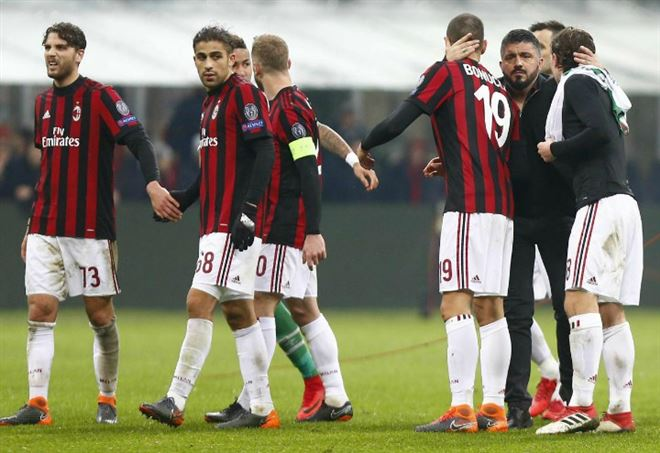 Pronostico Milan Arsenal, ottavi Europa League (Foto LaPresse)