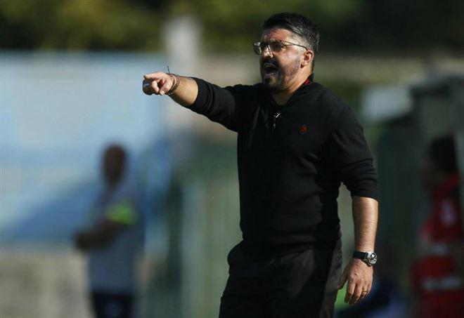 Gennaro Gattuso, allenatore Milan - LaPresse