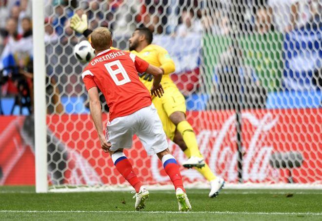 Pagelle Russia Arabia Saudita, Mondiali 2018 gruppo A (Foto LaPresse)