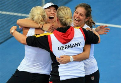 Esulta la Germania: finale di Fed Cup dopo 22 anni
