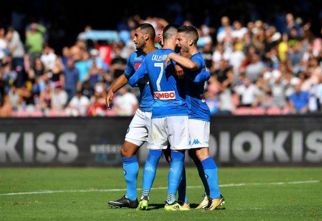 Risultati Serie A: il Napoli ha il miglior attacco del torneo (Foto LaPresse)