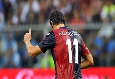 Alberto Gilardino, ex della partita: 50 gol a Parma (Infophoto)