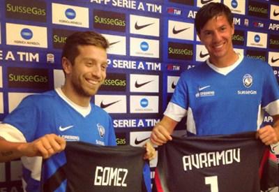 Alejandro Gomez e Vlada Avramov, i due nuovi acquisti dell'Atalanta