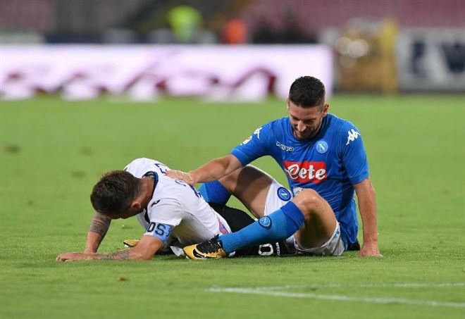 Video Napoli Atalanta, quarti Coppa Italia (Foto LaPresse)