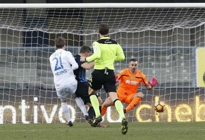 Serie A, 38ª giornata: Atalanta-Chievo 1-0, Dea quarta per una notte