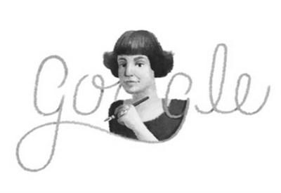 Maria Ivanovna Tsvetaeva, il doodle di Google